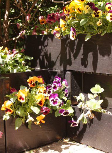 Agro Block - groene muren en bloembakken