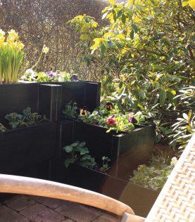 Agro Block en zonnestoel